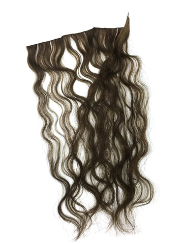 "6 Pcs Skin Weft Wavy Human Hair Extensions 14"" - Hairesthetic"