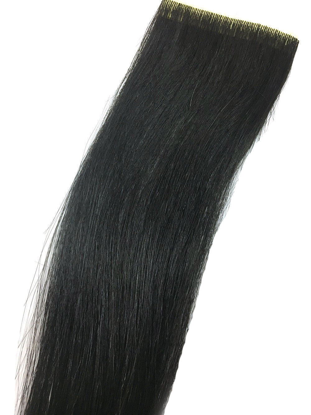"6 Pcs Skin Weft Yaki Straight Human Hair Extensions 18"" - Hairesthetic"