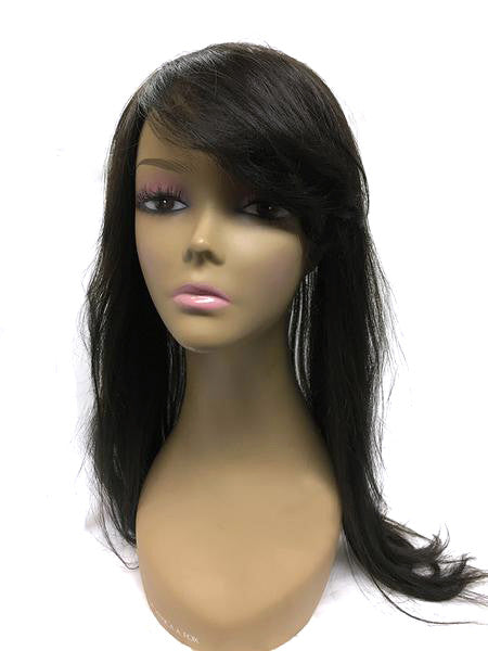 "Hair Topper with Straight - 100% Human Hair 18"" - Hairesthetic"