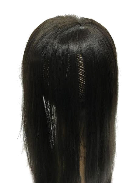 "Hair Topper with Straight - 100% Human Hair 14"" - Hairesthetic"