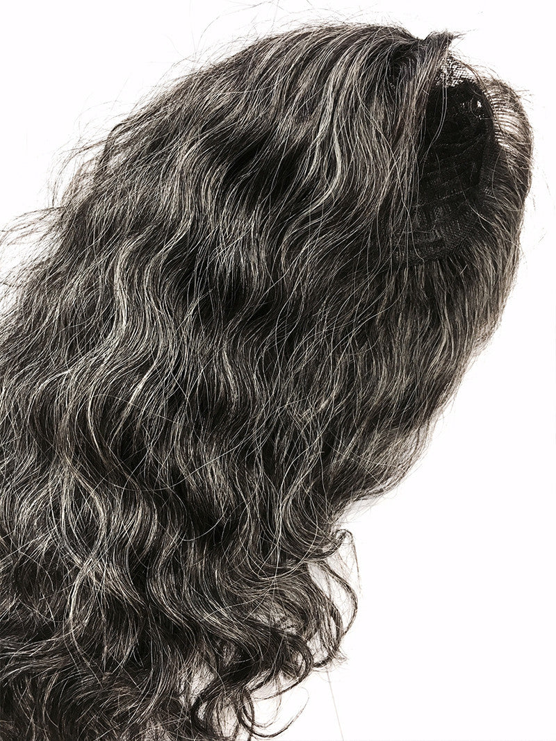 Hair Topper with Brazilian Curl - 100% Human Hair (CUSTOMIZED) #33D - Hairesthetic