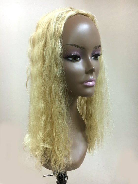 Hair Topper with French Wave - 100% Human Hair 18""
