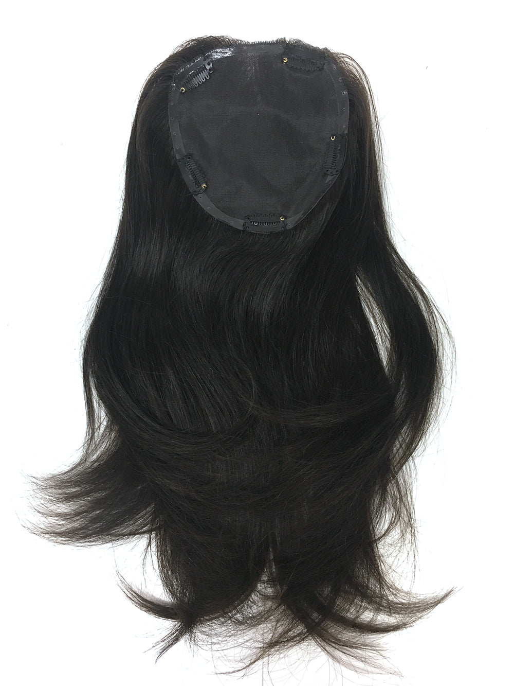 Topper - Hand made 100% human hair with high quality Indian Remy Straight