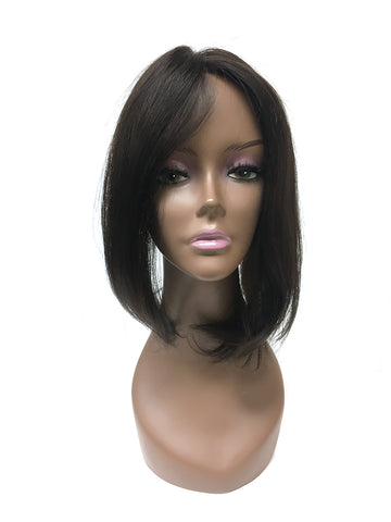 Topper - Hand made 100% human hair with high quality Indian Remy Straight - Hairesthetic