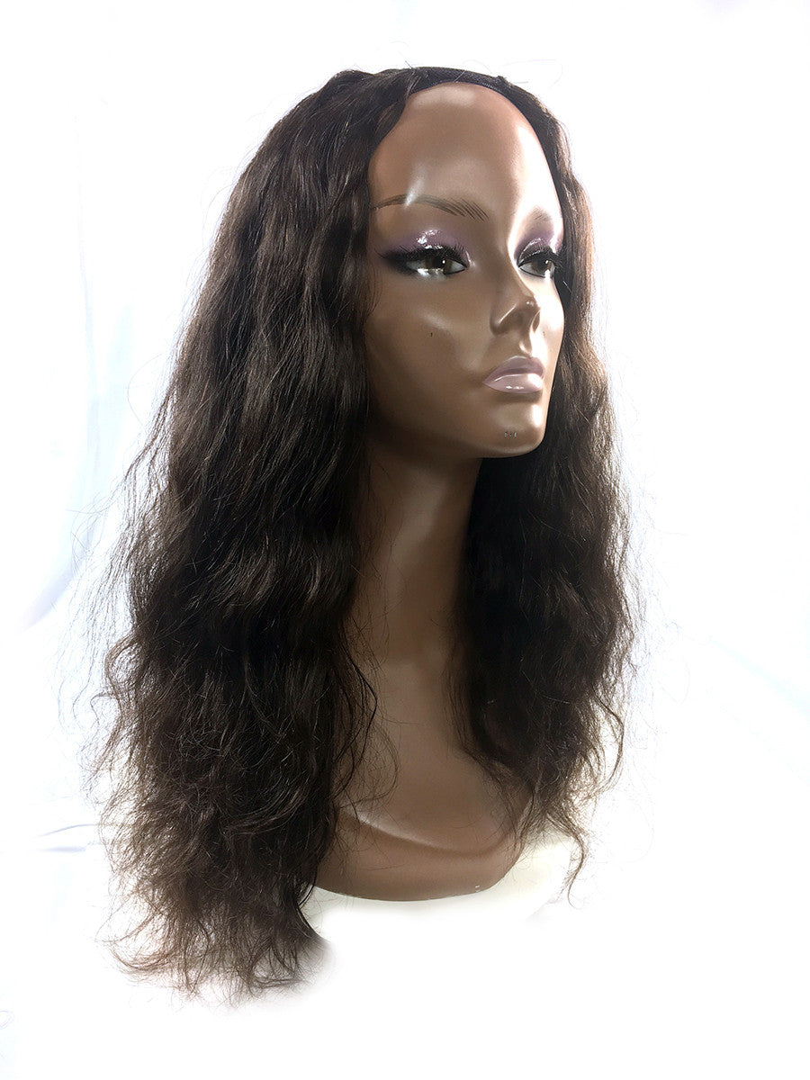 Customized U Part Bodywave  Color #18 - Hairesthetic