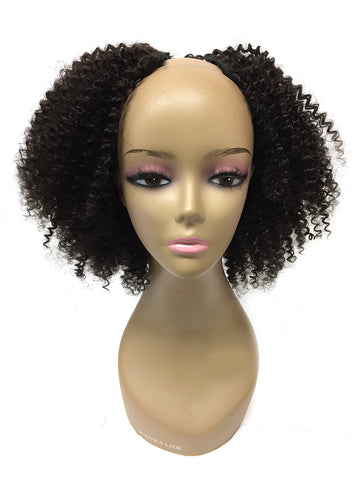 "U Part Tight Kinky Curly 14"" - Hairesthetic"