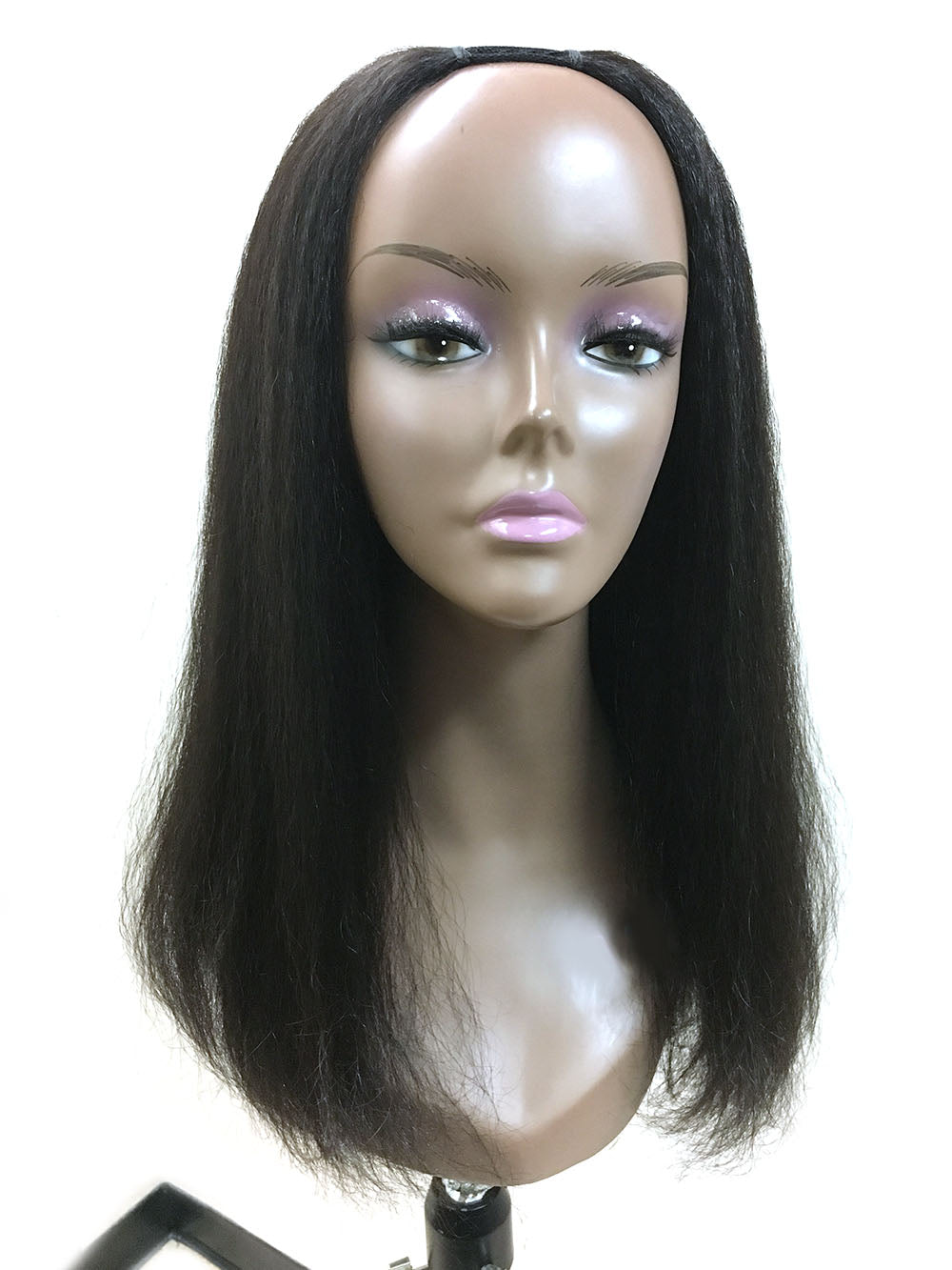 "U Part Kinky Straight 18"" - Hairesthetic"