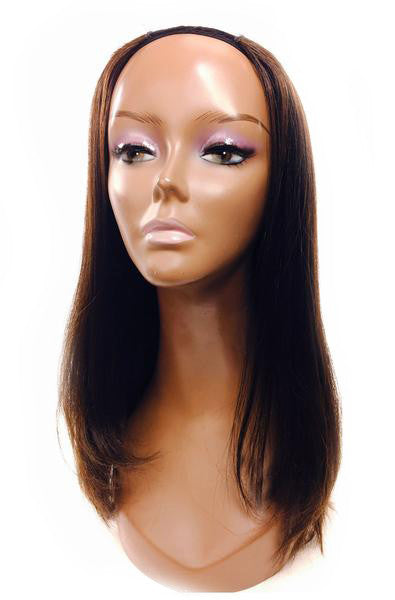 "U Part Yaki Straight 12"" - Hairesthetic"