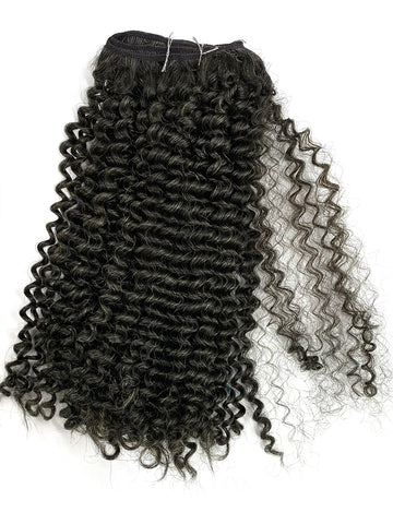 "Remy Tight Kinky Curly -100% Human Hair , 4 oz Bundle 18"" - Hairesthetic"