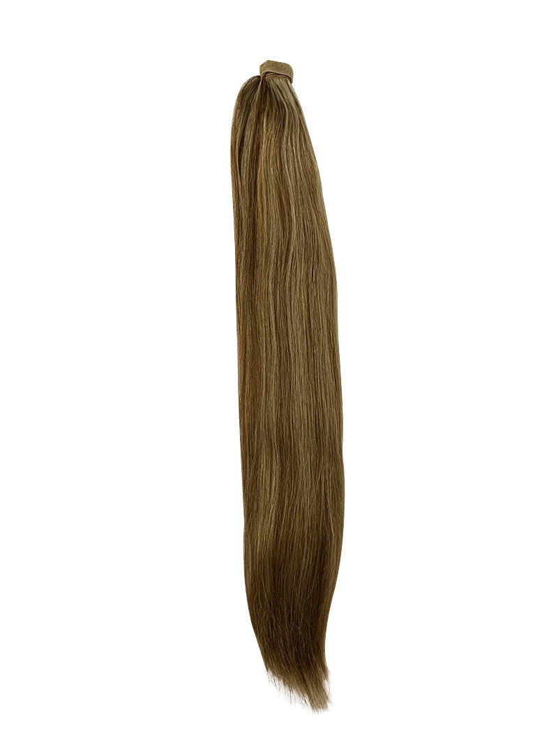 "Wrap Around 100% Human Hair Ponytail in Straight 22"" - Hairesthetic"