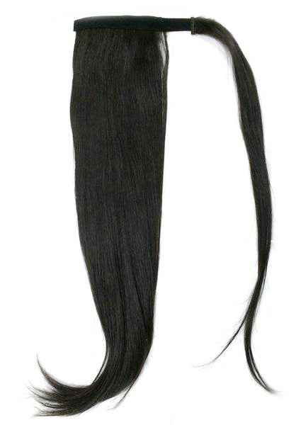 "Wrap Around 100% Human Hair Ponytail in Straight 22"" - Extra thick 180 Grams - Hairesthetic"