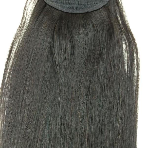 "Wrap Around 100% Human Hair Ponytail in Straight 26"" - 7oz Thick. - Hairesthetic"