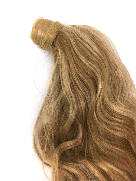 "Wrap Around 100% Human Hair Ponytail Bodywave 18"" - Hairesthetic"