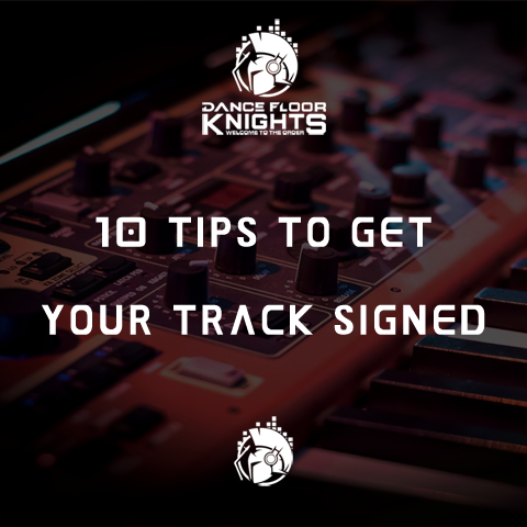 10 Tips To Get Your Track Signed