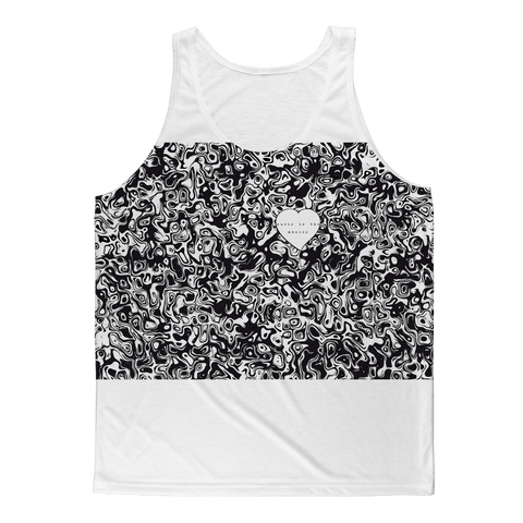 Music is the Answer Classic Sublimation Adult Tank Top