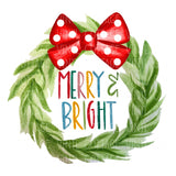TR185 Merry and Bright Wreath