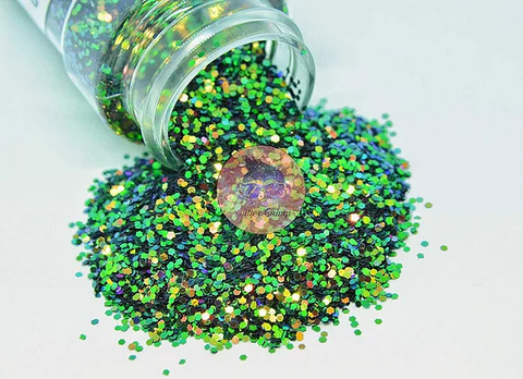 Green Monster Chunky Color Shifting Glitter