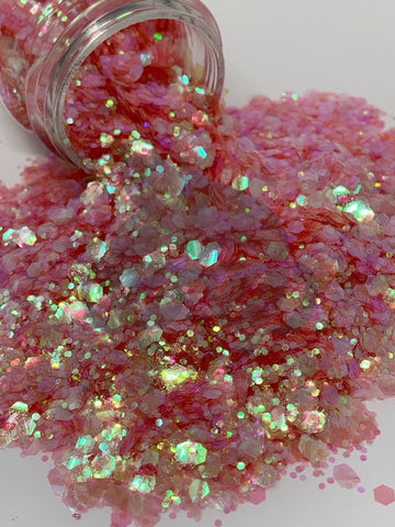Quite Coral Mixology Glitter