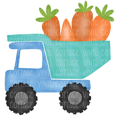 TR261 Easter Dump Truck with Carrots