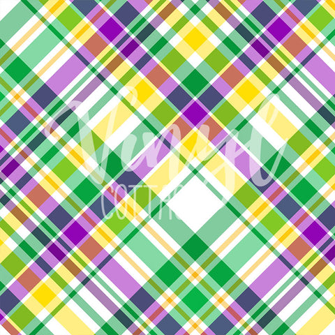Mardi Gras Plaid 02