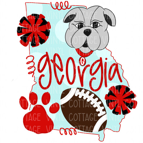 TR325 Georgia Sports Bulldogs