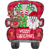 TR454 Merry Christmas Truck
