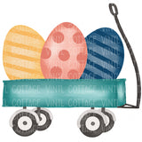 TR527 Egg Trio in Wagon