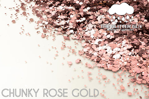 Chunky Rose Gold
