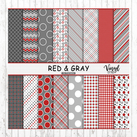 Red and Gray