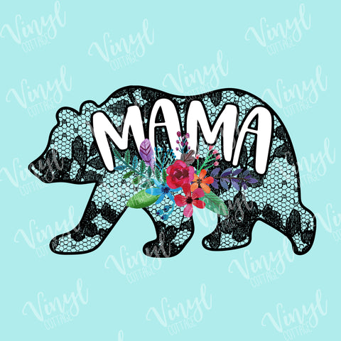 Mama Bear Lace HTV