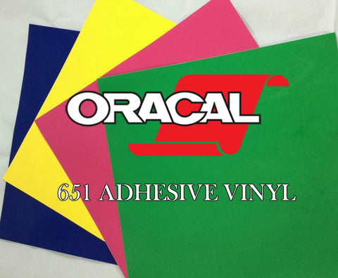 Oracal 651 Craft Vinyl