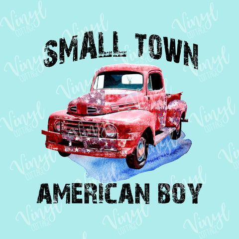 Small Town American Boy