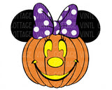 TR173 Pumpkin Miss Mouse
