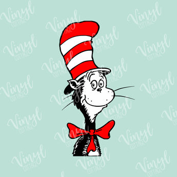 Seuss Cat in Hat HTV Transfer-TR243