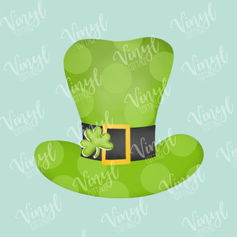Leprechaun Hat HTV Transfer-TR250
