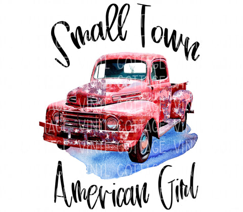 TR722 Small Town American Girl