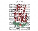 TR813 Joy to the World Sheet Music
