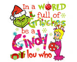 TR816 Be a Cindy Lou Who