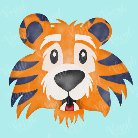 Cute Tiger HTV Transfer