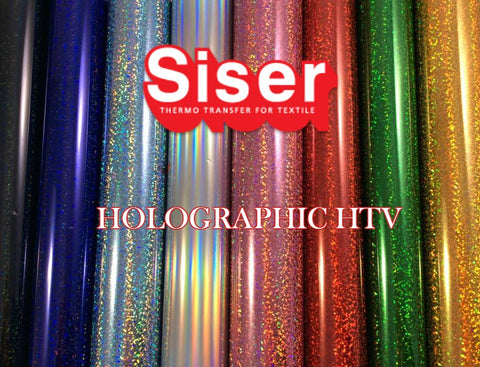 Siser Holographic HTV Craft Vinyl