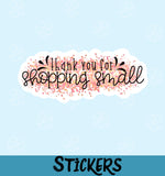 Thank You For Shopping Small #12