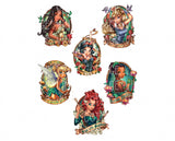 WS134 Tattoo Princesses Water Slides