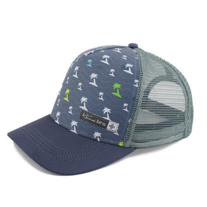 Ferocious Palms Trucker Hat - Hermosa Hat Co.