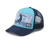 "The ""Burik Day!"" Sports Trucker Hat - NEONSUN"