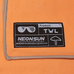 Orange Crush Ultra Functional Towel - TWL by NEONSUN