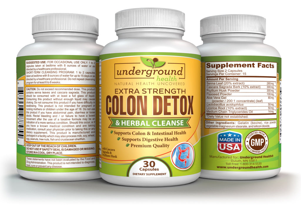 Underground Health Colon Detox & Herbal Cleanse