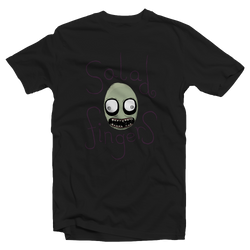 Salad Fingers Black Tee