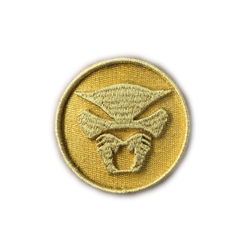 Thundercat 3D Patch - Gold