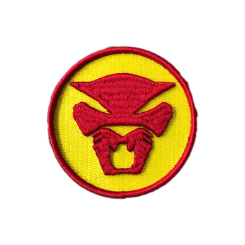 Thundercat 3D Patch - Red + Yellow