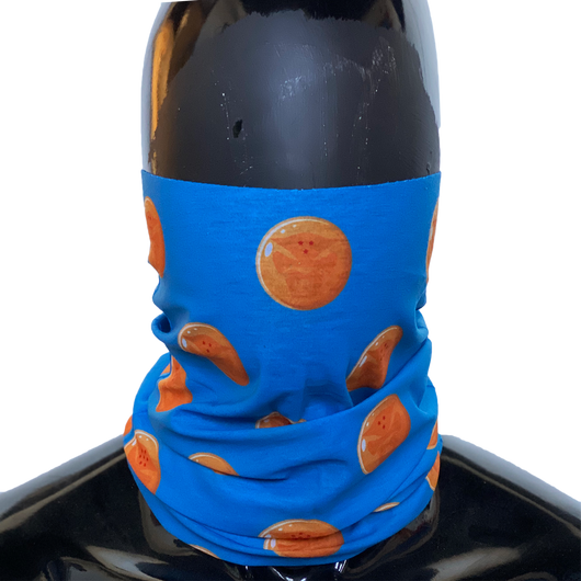 Dragonball Neck Gaiter - Sky Blue